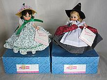 Two boxed 19cm 1990s Madame Alexander 'Scarlett &