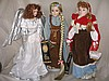Three fantasy 80s Long Ago & Far Away dolls