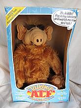 Two B/O Coleco Talking TV Alf dolls:- Played /