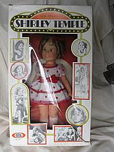 Boxed 1974 Ideal Shirley Temple, all original coin
