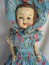 Composition 1940s 51cm Australian Trio Doll Co