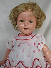 All original 1934-35 Ideal Shirley Temple doll