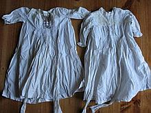 Antique c1880 -1900 Whitewear:- Three Babies Day
