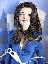 Boxed Franklin Mint vinyl 41cm Kate Middleton