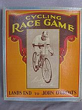 Rare Hubert Opperman 1930s Cycle Race Game 'Lands