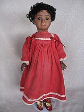 Negroid brown Simon & Halbig 1388 antique bisque doll