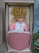 Mixed Dolls and more:- Two boxed dolls, MIB porcelain Cassy, Applause MIB playtime Xmas toys, CPK, R
