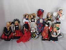 Mixed Dolls & Toys includes:- Betty Viazim Teddykins, French celluloid, Schildkrot Tortulan boy/girl
