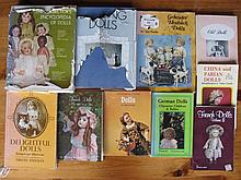 Ten Doll Reference Books inc:- Encyclopedia Coleman #2 Coleman, Heubach by Foulke, German, French, C