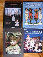 Ten Doll Books inc:- Heubach /Stanton, signed TTNursery Window, Seeley, Beloved China Dolls, Mignonn