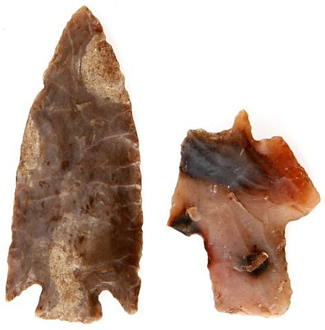 TEXAS & TENNESSEE ARROWHEAD LOT ARCHAIC
