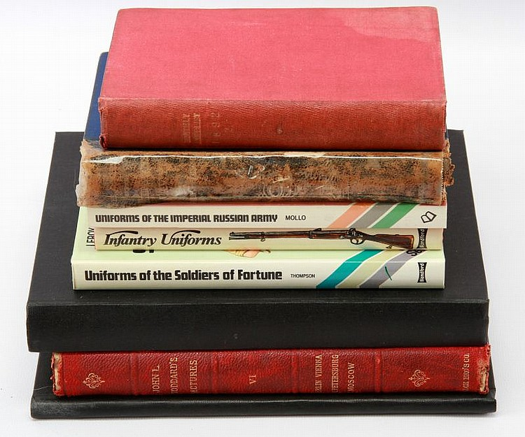 DEALER'S MIXED LOT OF 8 BOOKS
