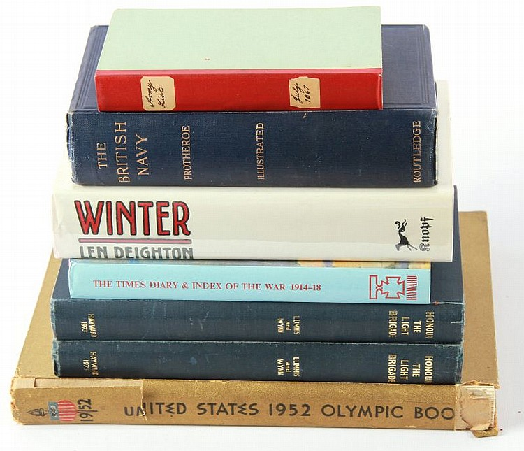 DEALER'S LOT OF 7 BOOKS