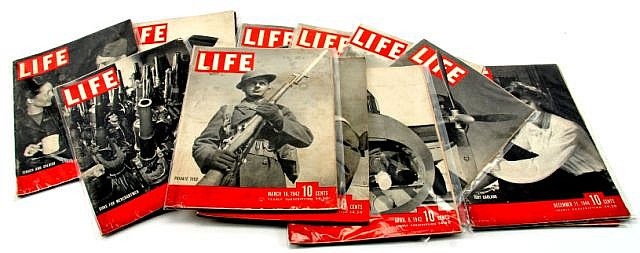 WWII LIFE MAGAZINE COLLECTION