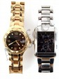 TWO MENS GUESS WRISTWATCHES