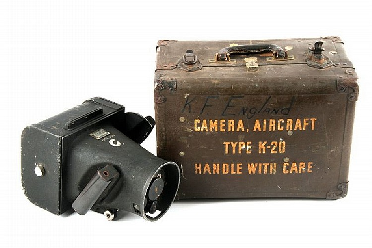 USAF TYPE K-20 FAIRCHILD AIRCRAFT CAMERA NAMED