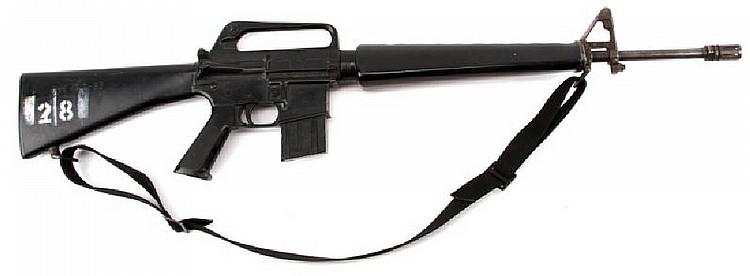 VIETNAM WAR ERA M-16 RUBBER DUCK TRAINING RIFLE