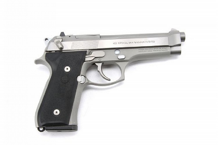 BERETTA 92FS 9MM STAINLESS
