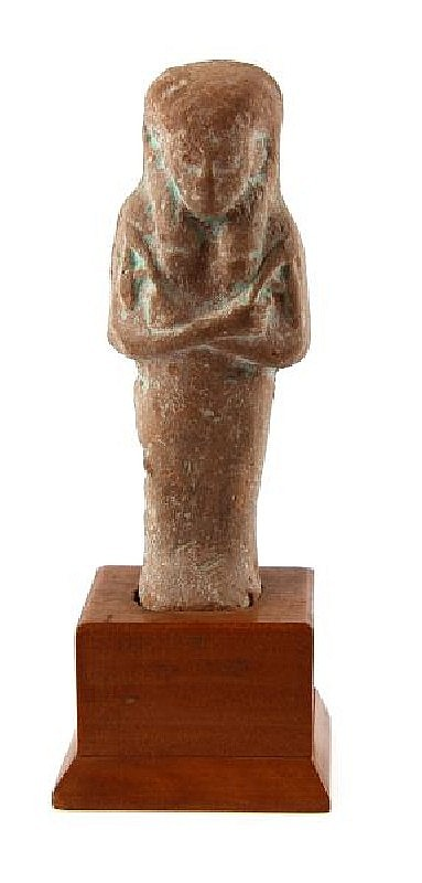 EGYPTIAN FAIENCE STONE FIGURINE