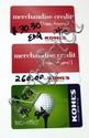 THREE KOHLS GIFT CARDS TOTALING $302.65