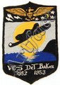 US NAVY VC-3 KOREAN WAR FLIGHT JACKET PATCH