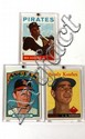BASEBALL CARD LOT RYAN NR MINT CLEMENTE KOUFAX 4/5