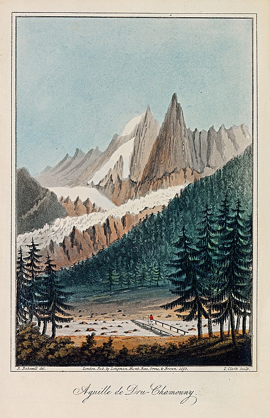 BAKEWELL (Robert). Travels, comprising observations made during a residence in the Tarentaise, and various parts of the Grecian and Pennine Alps, and in Switzerland and Auvergne in the years 1820, 1821 and 1822. Londres, Longman, Hurst, Rees, Orme