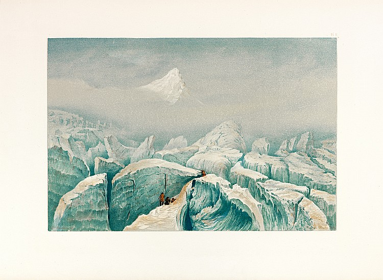 COLEMAN (Edmund Thomas). Scenes from the snow-fields : being an illustrations of the upper ice-world of Mont Blanc, from sketches made on the spot in the years 1855, 1856, 1857, 1858. With historical and descriptive remarks, comparison of the