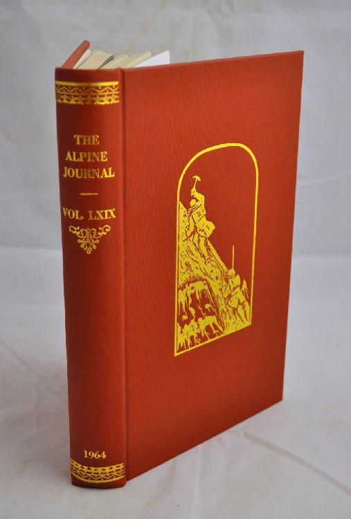 ALPINE JOURNAL (The) : A Record of Mountain Adventure and scientific Observation. Londres, Longman, Green, Longman, Roberts & Green, 1864-1998. 103 volumes in-8, cartonnage de l'éditeur.