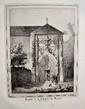 GONIN (François). Souvenirs pittoresques de Haute-Combe. Turin, Démétrius Festa, 1830. In-4 oblong, demi-veau havane, dos lisse orné.