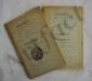 BEAUSÉJOUR (Gaston de). Pesmes et ses Seigneurs du XIIe au XVIIIe siècle. Avec un catalogue des actes. Vesoul,  A. Suchaux et L. Bon, s.d. 2 volumes in-8, brochés, en partie non coupés.