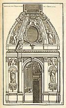 [MAROT (J.)]. Vues des plus belles maisons de France. [Paris, Mariette, ca 1680], in-folio de 109 ff., demi-chagrin rouge à coins, dos à nerfs orné, tête dorée (reliure du XIXe siècle).