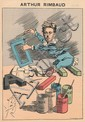 VERLAINE (Paul). Les Hommes d'aujourd'hui. Paris, Léon Vanier, s.d. 1885-1893. 27 numéros de 2 ff. chacun en un volume petit in-4, bradel demi-percaline rouge, titre en long, non rogné (Reliure de l'époque).