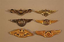 Grouping of US Naval Wings
