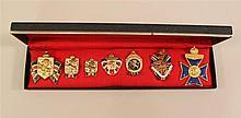 British War Relief Society Pins