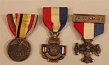 Grouping of WWI Service Medals