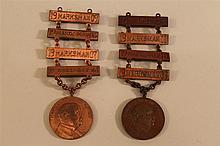 Pennsylvania National Guard Marksman's Medals