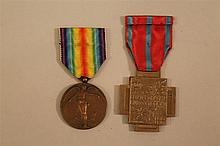 WWI Belgian Medals