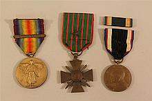 US WWI Medal Grouping