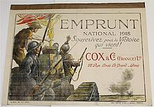 French WWI Loan/Bond Poster