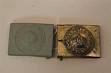 Pair of WWI German Belt Buckles