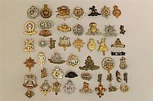 British Empire Cap Badges