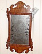 Tiger Maple Chippendale Style Mirror