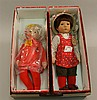 PAIR OF KATHE KRUSE DOLLS IN ORIGINAL BOXES  - 14
