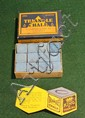 Full box of Triangle chalk made by Kieckhefer, sold by G. Correale & Sons. 11 pc. of unused and 1 pc of used.