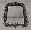 Wrought Iron Rose Petaled Mirror, 40