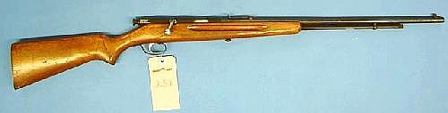 Springfield, Model 86, bolt action rifle. 22 Cal.,