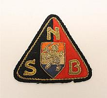 WWII Dutch NSB Badge in Bullion