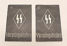 WWII Dutch SS Magazines
