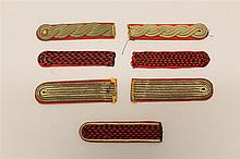 Grouping of Dutch WWII Shoulder Straps